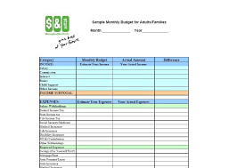 Excel Monthly Budget Spreadsheet 30 Budget Templates Budget Worksheets Excel Pdf Template Lab