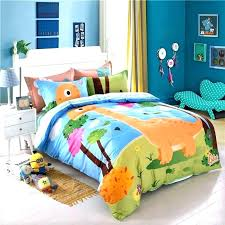 toddler bed duvet kids dinosaur print bedding set twin queen size ll 2 toddler and curtains