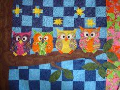 Free patterns for owl quilts.   Quilts For All   Pinterest   Owl ... & Have you found a location for this owl quilt pattern? Description from  quiltwalktalk.blogspot Adamdwight.com