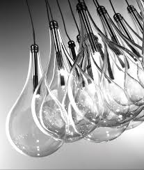 teardrop glass 16 light square cer pendant choose 12v g4 or g4 led lamps