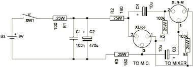 microphone wiring diagram xlr images microphone lifier circuit microphone lifier circuit diagram electret