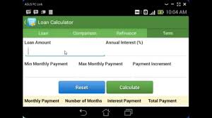 refinance calculations android loan calculator tutorial refinance comparison and