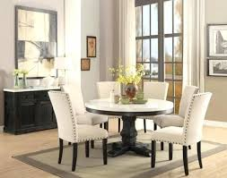 round dining table with chairs acme classic white marble top black round dining table set dining round dining table with chairs