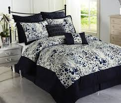 bedspread king size comforters navy blue and white having giraffe pattern plus full comforter accent