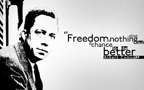 Albert Camus Freedom Quote