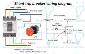 cutler hammer shunt trip breaker wiring diagram wire diagram how does a shunt trip breaker work cutler hammer shunt trip breaker wiring diagram luxury magnificent wiring a circuit breaker electrical wiring