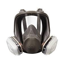 3m tekk protection um full face paint spray project respirator mask case of 2