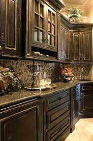 kitchens with black distressed cabinets. D Licieux Distressed Black Kitchen Cabinets Awesome 1092x660 Kitchens With I