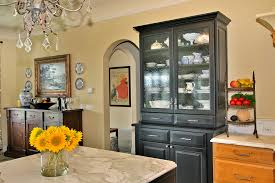 glamorous buffet hutch in kitchen traditional with china cabinet next to black cabinets alongside hoosier cabinet and ikea pull out pantry