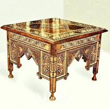 coffee table charming style on stunning home decoration plan with moroccan round detailed view