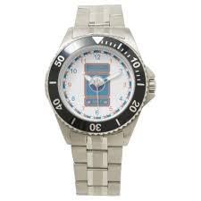 Marine Science Technician Uscg Marine Science Technician Wrist Watch