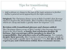 transitioning sentences transitions and topic focus tips for transitioning after the