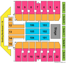 Erie Tullio Arena Seating Chart Erie Insurance Arena Tickets In Erie Pennsylvania Seating