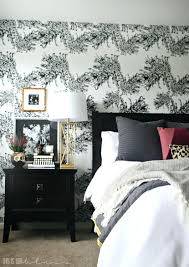 Master Bedroom Accent Wall Master Bedroom Accent Wall With Wallpaper This  Is Our Bliss Bedroom Wallpapered