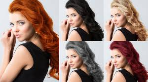 How To Change Hair Style how to change hair color darkbrunette to other colors photoshop 4750 by wearticles.com