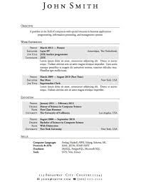 How To Make A Resume For A Highschool Student Cool How To Write A Job Resume For A How To Create A Resume For
