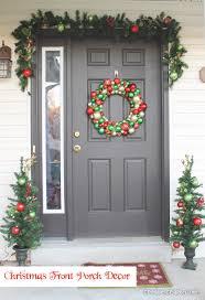 Christmas Front Porch Decor Create Craft Love. apartment interior design.  interiordecoration. house interior