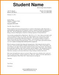 Best Ideas Of 5 Application Letter Sample For Students With