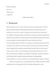 014 Mla Research Paper Format Section Headings Article Museumlegs