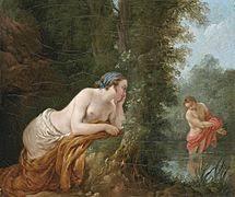 narcissus mythology echo and narcissus louis jean franatildesectois lagrenatildecopye