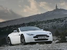 Aston Martin V8 Vantage Roadster 2007 Pictures Information Specs