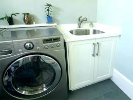 Laundry Room Sink Ideas Utility Small  Cabinets Cabinet34