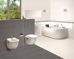 ... Black And White Bathroom Tile Purple Wall Awesome Bathroom Tile  Impressive Bathroom Mosaic Tile ...
