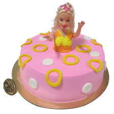 Barbie Cake Chandigarh Cakes Delivery Home Delivery Of Cream