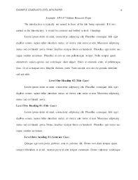 Sample Apa Paper Apa Format For Essay Paper Format Paper Example Related Keywords