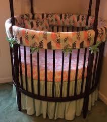 Circular Crib Bedding Specialty Round Crib Bedding Sets Home Inspirations Design