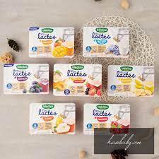 Đồ ăn dặm cho bé] Sữa chua BLEDINA Lactes Pháp cho bé 4m+/ Sữa chua ít  đường Brasses Bledina Pháp cho bé giảm tiếp 113,999đ