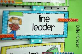 Differentiated Kindergartens Classroom Helpers