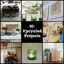 ... coming up next month, I asked some of my favorite craft and DIY  bloggers to share with you their very favorite Upcycling and Recycling  projects, enjoy!