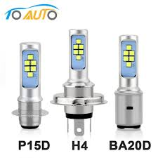 H6 Light Bulb Us 6 5 30 Off H4 H6 P15d Ba20d Led Bulb Motorcycle Headlight Canbus Fog Light White 1200lm Hi Lo Lamp Scooter Accessories Moto Drl For Suzuki On