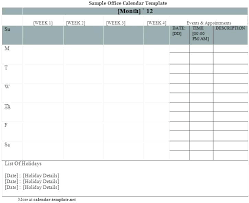 Monthly Blank Calendar 2015 Template For Calendars 2015 Stagingusasport Info