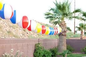 Beach Ball Decoration Ideas 100 Colorful Kid's Pool Party Decorations Shelterness 19