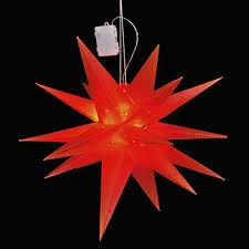 Led Weihnachtsstern Rot ø 58cm Mojawode Livestyle Und Wohndekoration