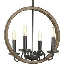 progress lighting p400080 020 fontayne antique bronze four light chandelier