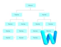 Hierarchy Organizational Chart Template Wsopfreechips Co