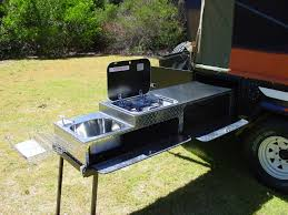 Camper Trailer Kitchen Sturt Off Road Camper Outback Campers Camper Trailers Melbourne