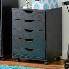 5 Drawer Metal File Cabinet Contemporary Square Chocolate Oak Wood Filing Cabinet Drawer Four