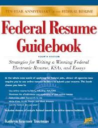 federal resume guidebook strategies for writing a winning federal  903627