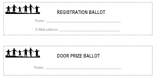 Draw Ticket Template Printable Draw Ballots Download Them Or Print