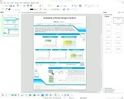 A0 Size Poster Template A0 Scientific Poster Template