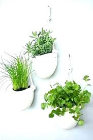 interior wall mounted planters indoor contemporary mount plant hanger hanging for 27 from wall mounted