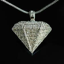 diamond necklace for men clipart