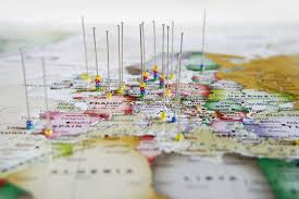 Maps Buy World Map With Pins Map Collection Around The World