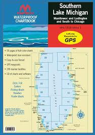 Maptech Waterproof Chartbook Southern Lake Michigan