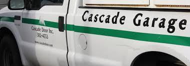cascade garage doorBend Garage Door Repair Installation Design Insulation  Cascade