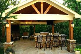 brown aluminum patio covers. Stand Alone Aluminum Patio Cover Kits Brown Covers